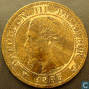 France 1 centime 1853 (A)