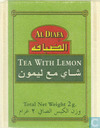 Tea bags and Tea labels - Al Diafa - Tea with Lemon