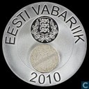"Estland 50 krooni 2010 (PROOF) ""Estonian Nature"""