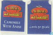 Tea bags and Tea labels - Al Diafa - Camomile with Anise