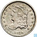 United States half dime 1835 (Small date, large 5)