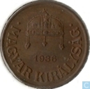 Hungary 1 fillér 1936
