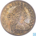 Most valuable item - United States Half dime 1803 (Large 8)