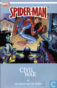 Strips - Spider-Man - Civil war + De man of de Spin? II
