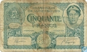Luxembourg 50 Francs