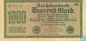 Reichsbank, 1000 Mark 1922 (75D)