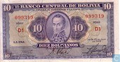 BOLIVIE  10 Bolivianos