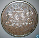 "Latvia 1 lats 2012 ""hedgehog"""
