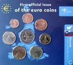 "Slovenië jaarset 2007 ""First official issue of the euro coins"""