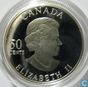 "Canada 50 cents 2005 (PROOF) ""Golden Rose"""