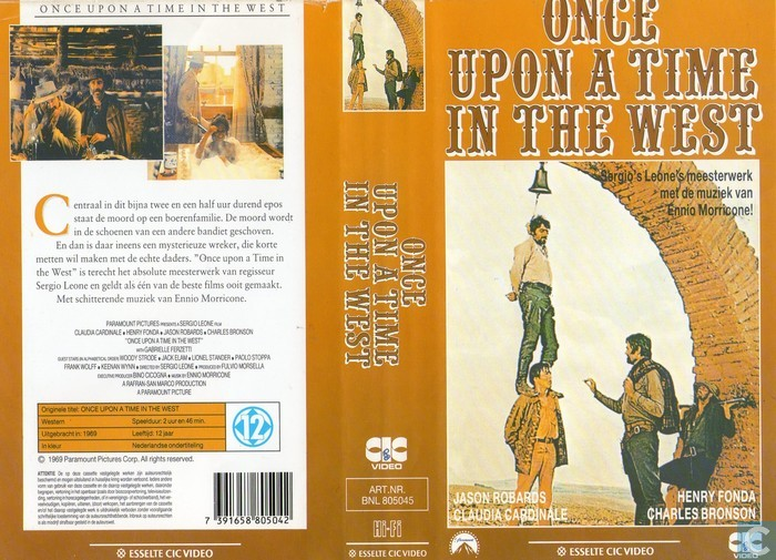 once upon a time in the west vhs video tape catawiki