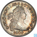 United States dime 1805 (4 berries)