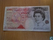 United Kingdom 50 Pounds 1994