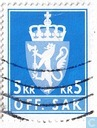 Postage Stamps - Norway - 1975 OFF. SAK II 500