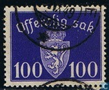 Postage Stamps - Norway - Without watermark 1941 offentlig Sak 100