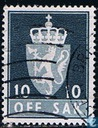Postage Stamps - Norway - 1982 OFF. SAK II 1910