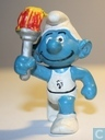 Torchbearer Smurf (with design on shirt