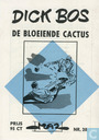Comic Books - Dick Bos - De bloeiende cactus