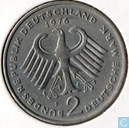 Coins - Germany - Germany 2 mark 1976 F (Theodor Heuss)