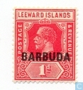 Leeward Islands with imprint