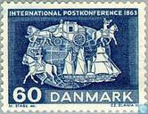 Timbres-poste - Danemark - Post Congrès Paris