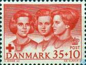 Timbres-poste - Danemark - Croix Rouge