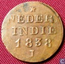 Nederlands-Indië 1 cent 1838