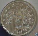 "France 6,55957 francs 1999 ""Introduction of the Euro"""