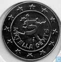 Tokens / Medals - Commercial tokens with no payment value - Nutella 5 Nutella Cents 2001 Idefix