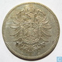 Coins - Germany - German empire 1 mark 1875 (B)