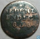 Dutch East Indies 2 cent 1838 J