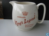 "Ainslie's ""King's Legend Scotch Whisky"""