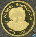 "Benin 1500 francs 2005 (PROOF) ""Albert Schweitzer"""