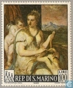 Postage Stamps - San Marino - Paintings by Titian
