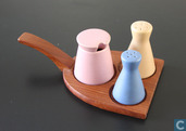 Pepper, salt and mustard set