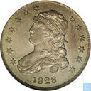USA 25 cent 1828 (25 over 50)