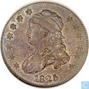 USA 25 cent 1825 (5 over 4 over 2)