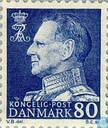 Postage Stamps - Denmark - King Frederick IX