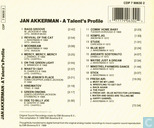 Platen en CD's - Akkerman, Jan - A Talent's Profile