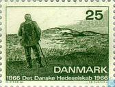 Postage Stamps - Denmark - Heide Association