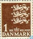 Briefmarken - Dänemark - Nationalen Wappen