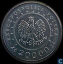 "Pologne 20000 zlotych 1993 ""Lancut Castle"""