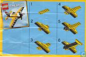 Lego 7808 Yellow Airplane polybag