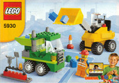 Lego 5930 Road Construction Building Set