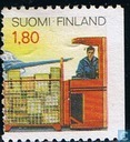 Postage Stamps - Finland - Postal Services