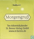 Tea bags and Tea labels - St. Benno-Verlag GmbH -  1 Morgengruß