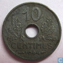 France 10 centimes 1944