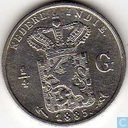 Dutch East Indies ¼ gulden 1885