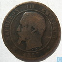 France 10 centimes 1857 (MA)