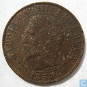 France 5 centimes 1854 (BB)